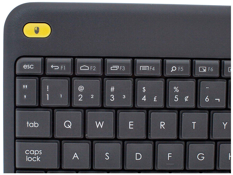 Foto 3 - Teclado Multimídia Sem Fio USB K400 Plus - Logitech