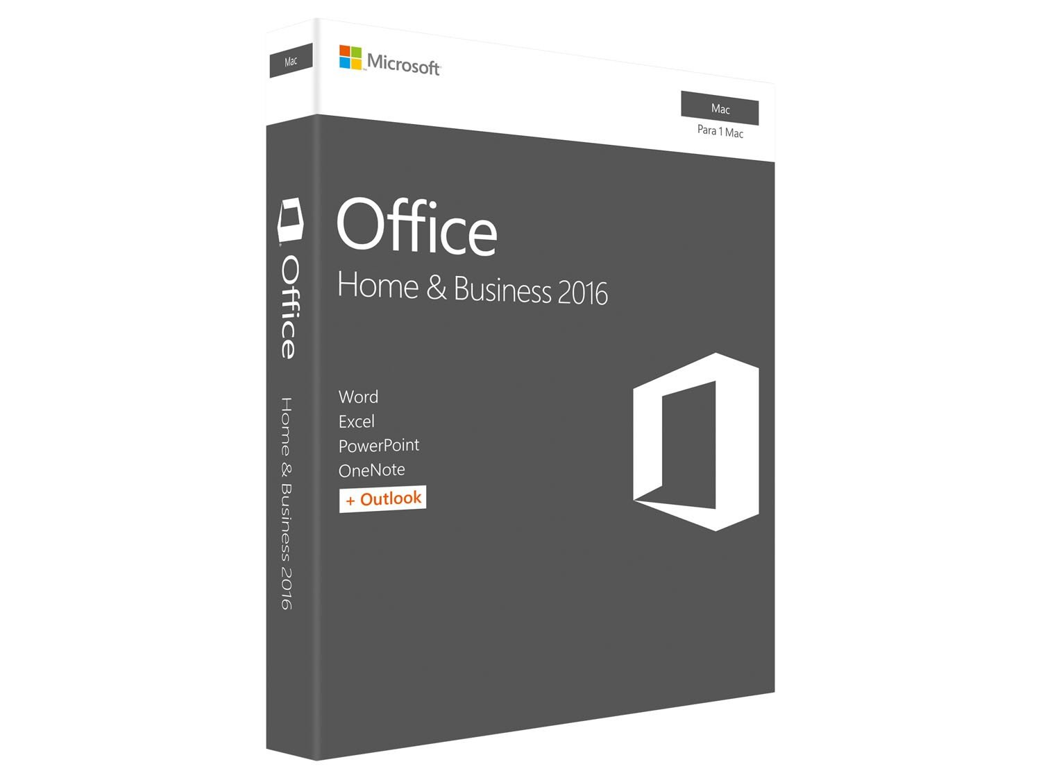 Foto 1 - Office Home and Business 2016 para Mac - Microsoft