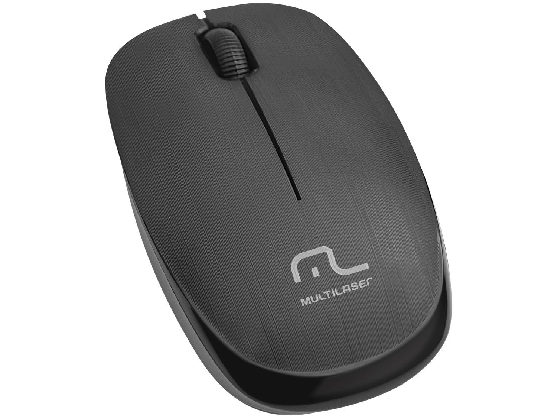 Foto 1 - Mouse Sem Fio Óptico 1200dpi Multilaser - MO251