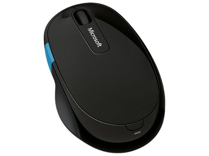 Foto 1 - Mouse Sem Fio Óptico 1000ppm Microsoft - Sculpt Comfort