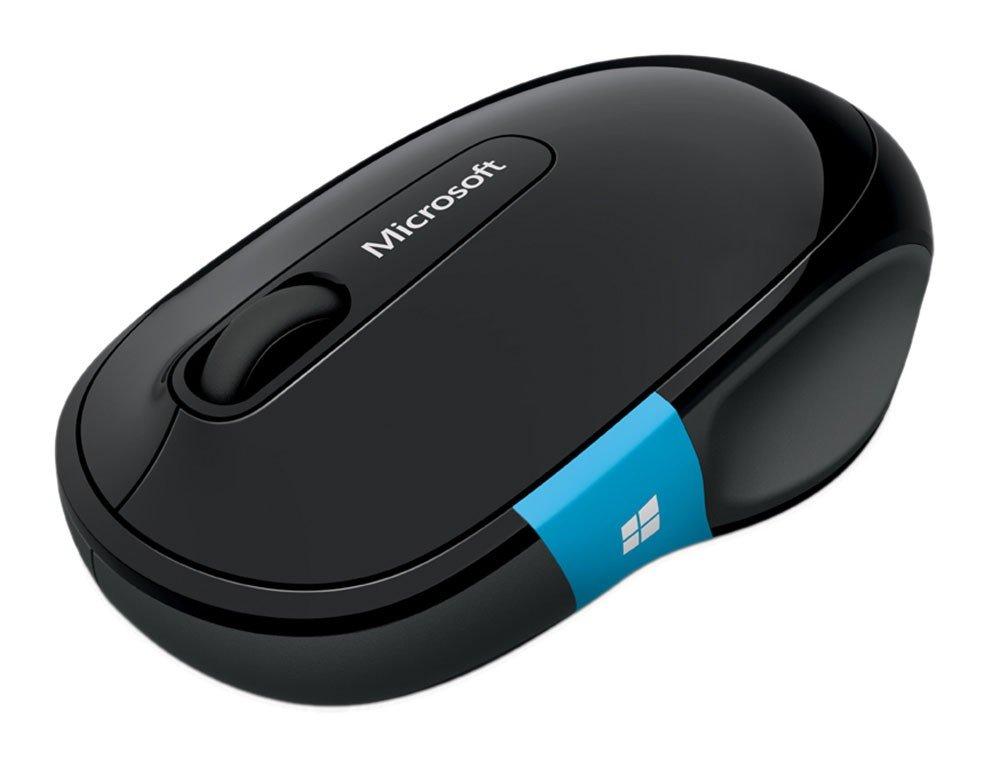 Foto 2 - Mouse Sem Fio Óptico 1000ppm Microsoft - Sculpt Comfort