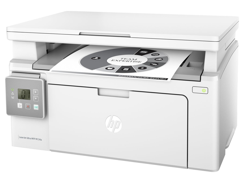 Foto 1 - Multifuncional HP LaserJet Ultra M134a - Laser LCD USB