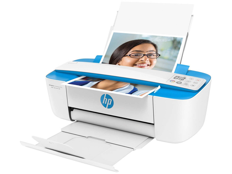 Foto 5 - Multifuncional HP DeskJet Ink Advantage 3776 - Jato de Tinta Display LCD Wi-Fi