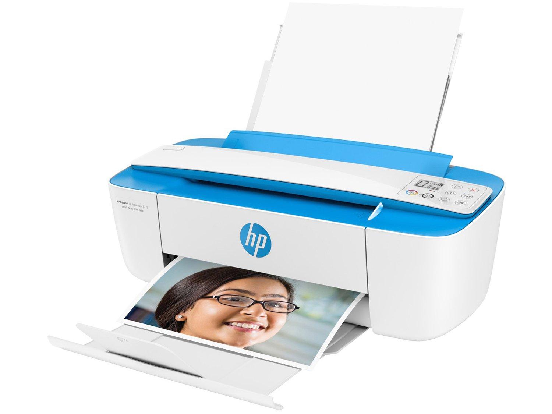 Foto 7 - Multifuncional HP DeskJet Ink Advantage 3776 - Jato de Tinta Display LCD Wi-Fi