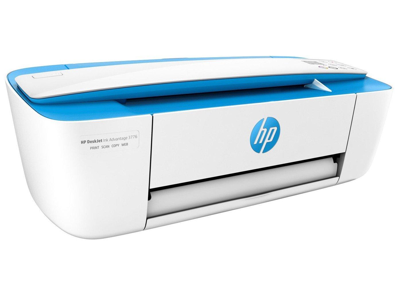 Foto 8 - Multifuncional HP DeskJet Ink Advantage 3776 - Jato de Tinta Display LCD Wi-Fi