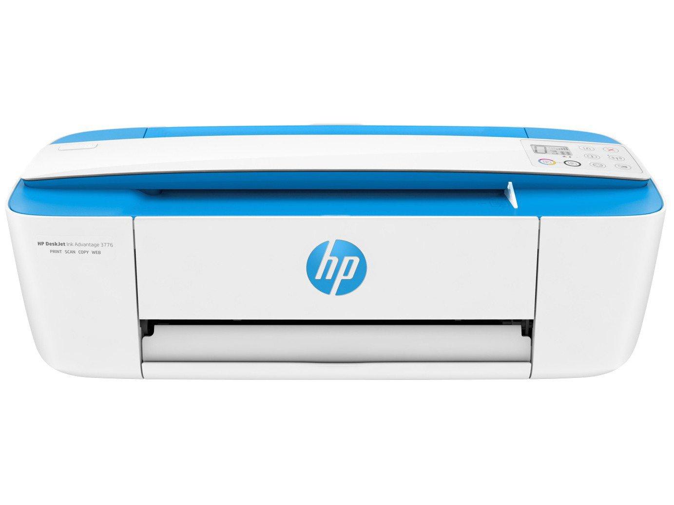 Foto 10 - Multifuncional HP DeskJet Ink Advantage 3776 - Jato de Tinta Display LCD Wi-Fi