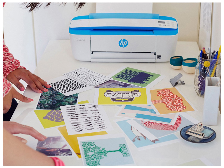 Foto 14 - Impressora Multifuncional HP DeskJet Ink 3776 - Jato de Tinta Colorida Wi-Fi