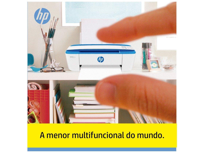 Foto 16 - Impressora Multifuncional HP DeskJet Ink 3776 - Jato de Tinta Colorida Wi-Fi