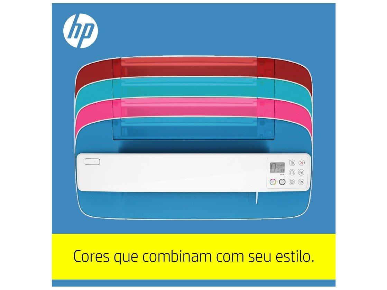 Foto 18 - Impressora Multifuncional HP DeskJet Ink 3776 - Jato de Tinta Colorida Wi-Fi
