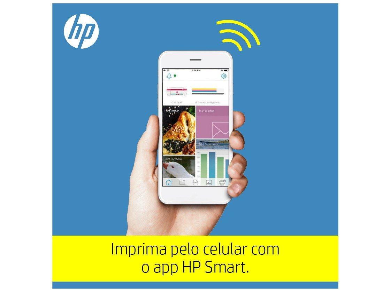 Foto 20 - Impressora Multifuncional HP DeskJet Ink 3776 - Jato de Tinta Colorida Wi-Fi