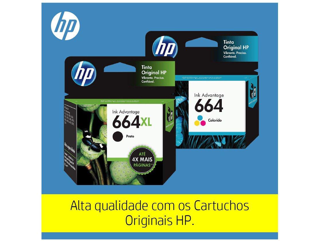 Foto 21 - Impressora Multifuncional HP DeskJet Ink 3776 - Jato de Tinta Colorida Wi-Fi