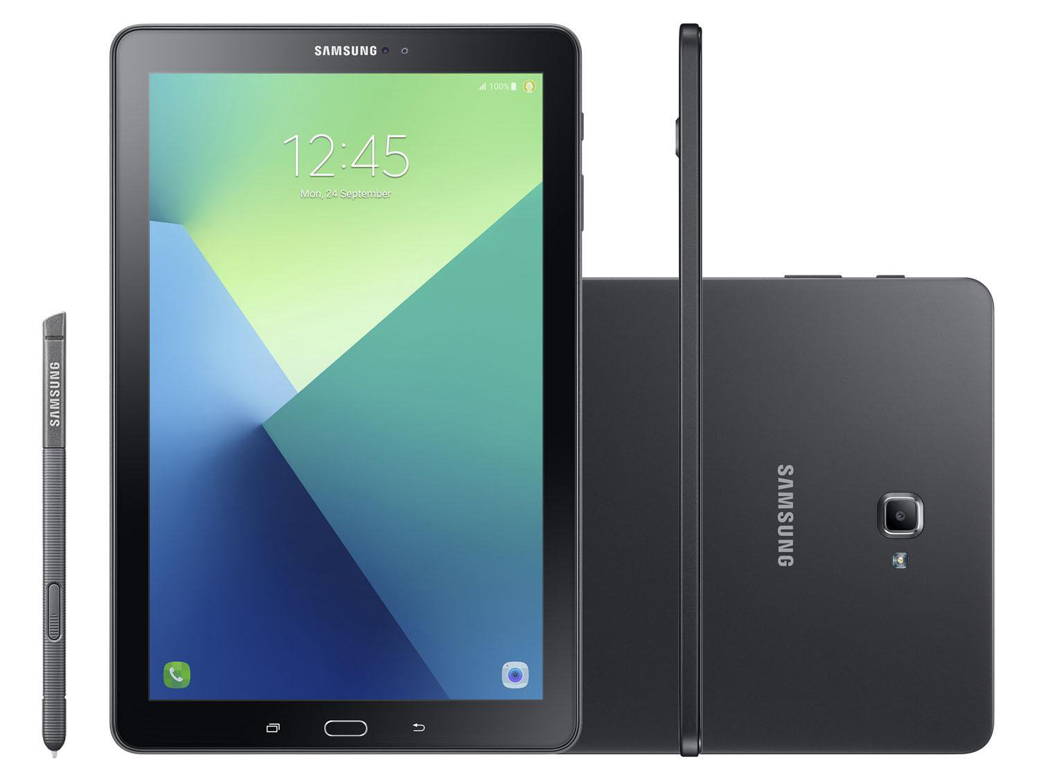 Foto 3 - Tablet Samsung Galaxy Tab A Note P585 16GB 10,1 - 4G Wi-Fi Android 7 Proc. Octa Core Câm 8MP