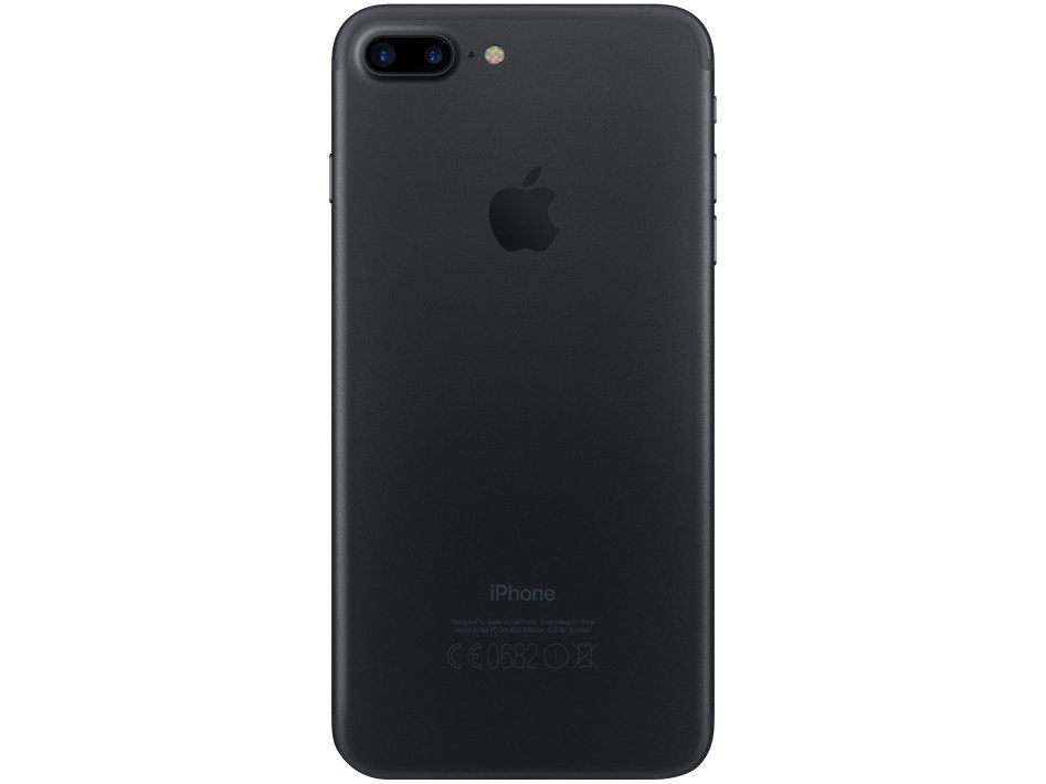 Foto 4 - iPhone 7 Plus Apple 32GB Preto Matte 4G Tela 5.5 - Câm. 12MP + Selfie 7MP iOS 11 Proc. Chip A10