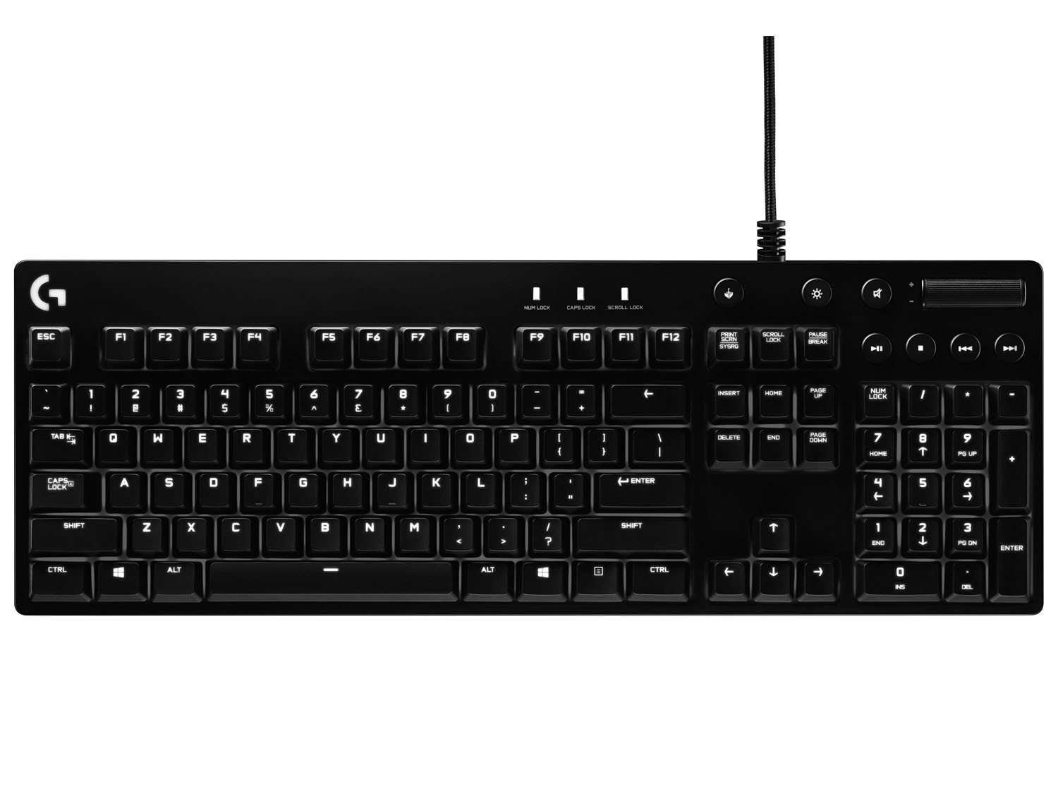 Foto 1 - Teclado Gamer G610 Orion Brown - Logitech