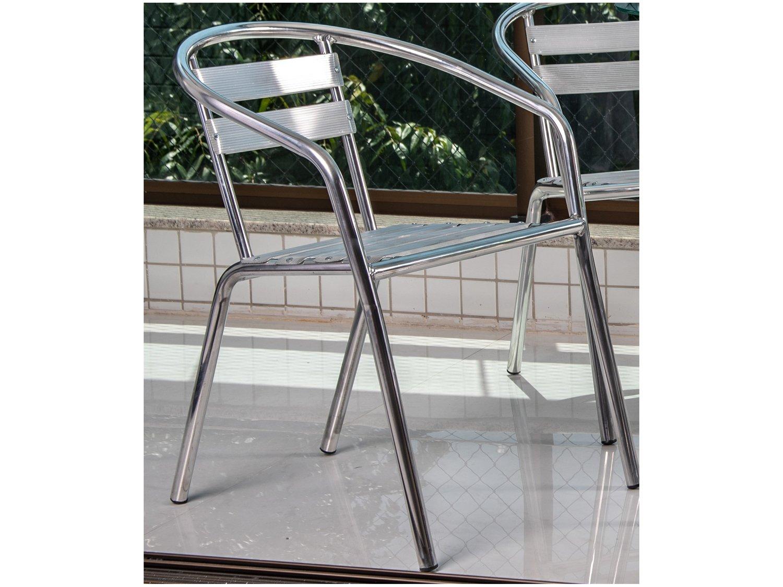 Foto 2 - Cadeira para Área Externa de Alumínio - Alegro Móveis A100