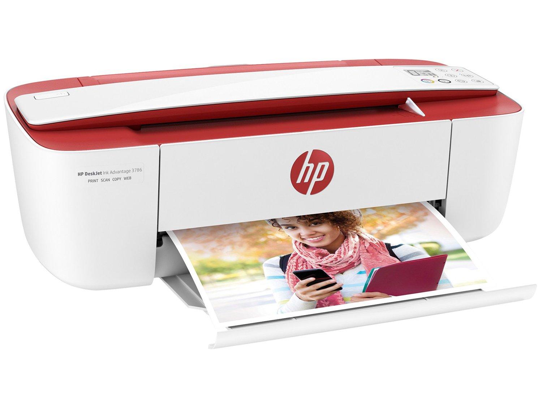 Foto 1 - Impressora Multifuncional HP DeskJet Ink Advantage - 3786 Jato de Tinta Wi-Fi Colorida USB