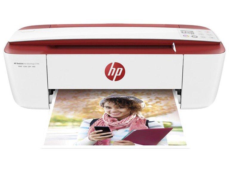 Foto 3 - Impressora Multifuncional HP DeskJet Ink Advantage - 3786 Jato de Tinta Wi-Fi Colorida USB