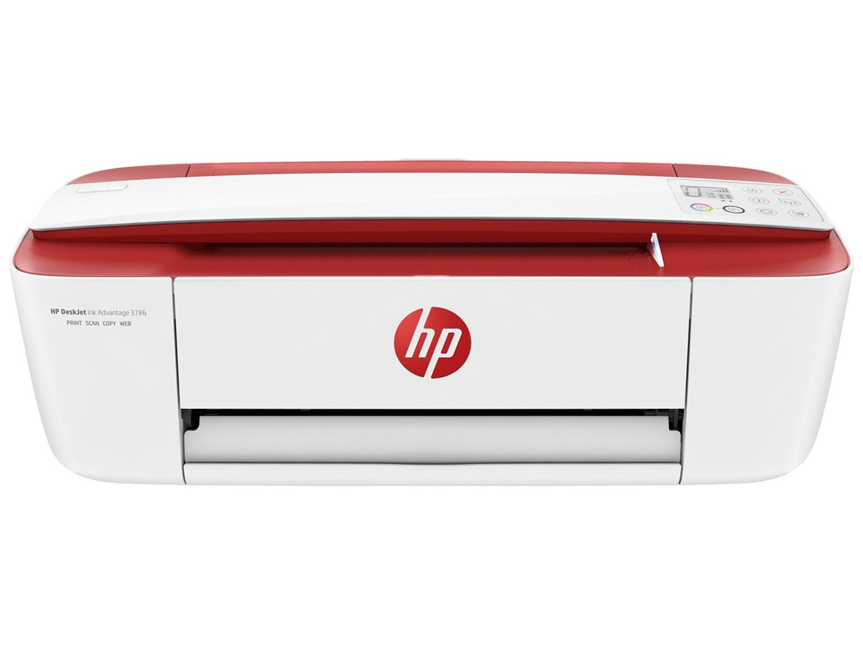 Foto 4 - Impressora Multifuncional HP DeskJet Ink Advantage - 3786 Jato de Tinta Wi-Fi Colorida USB