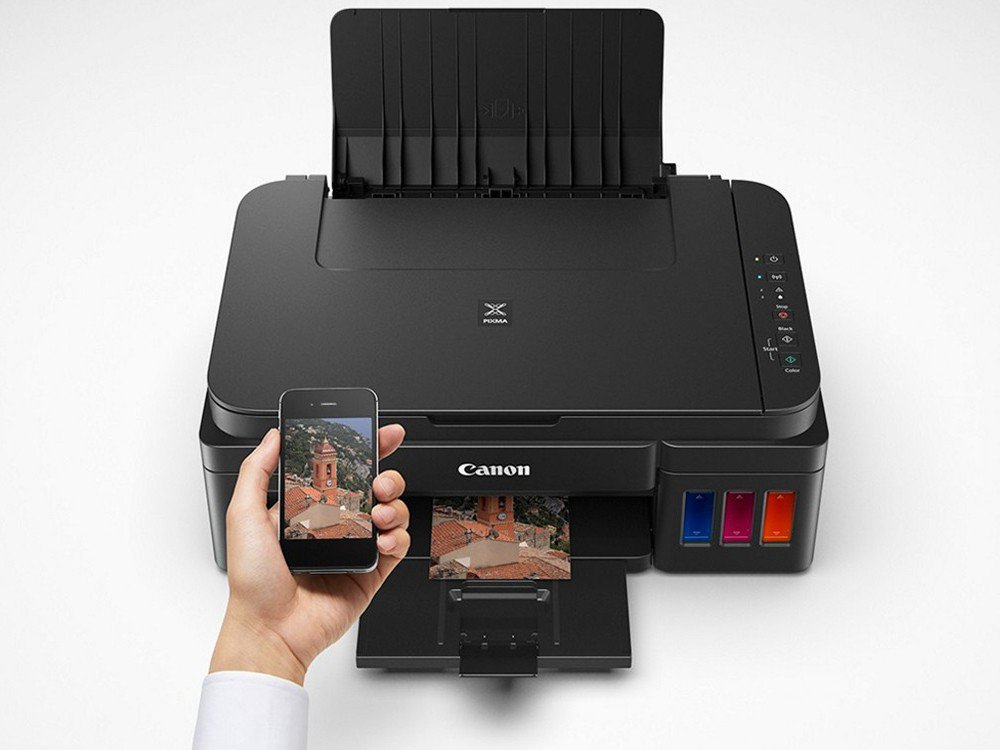 Foto 1 - Impressora Multifuncional Canon Maxx Tinta G3100 - Jato de Tinta Wi-Fi Colorida USB