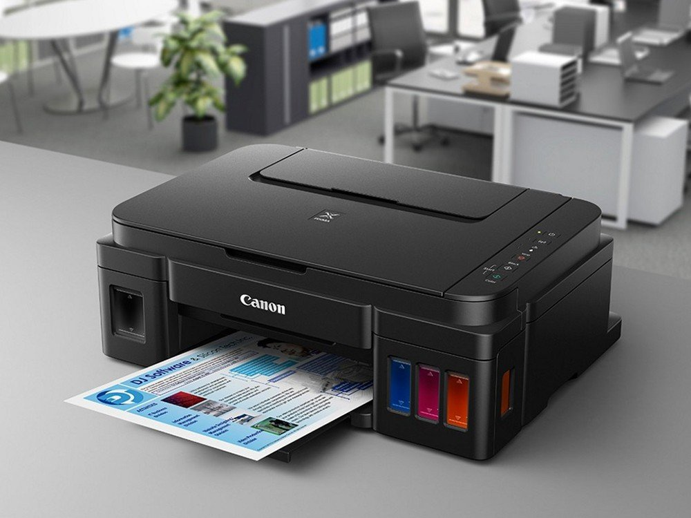 Foto 2 - Impressora Multifuncional Canon Maxx Tinta G3100 - Jato de Tinta Wi-Fi Colorida USB