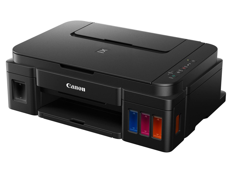 Foto 3 - Multifuncional Canon Maxx Tinta G3100 - Tanque de Tinta Colorida Wi-Fi USB