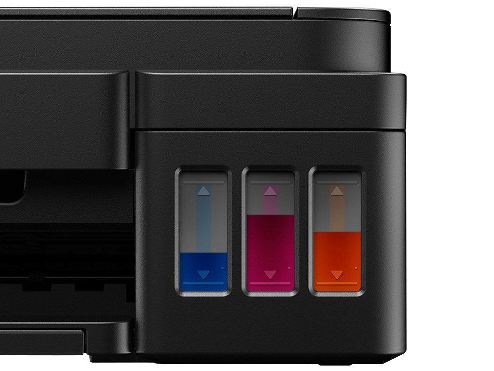 Foto 5 - Impressora Multifuncional Canon Maxx Tinta G3100 - Jato de Tinta Wi-Fi Colorida USB