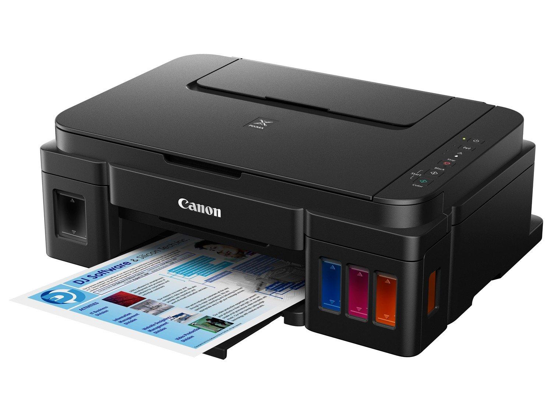 Foto 6 - Impressora Multifuncional Canon Maxx Tinta G3100 - Jato de Tinta Wi-Fi Colorida USB