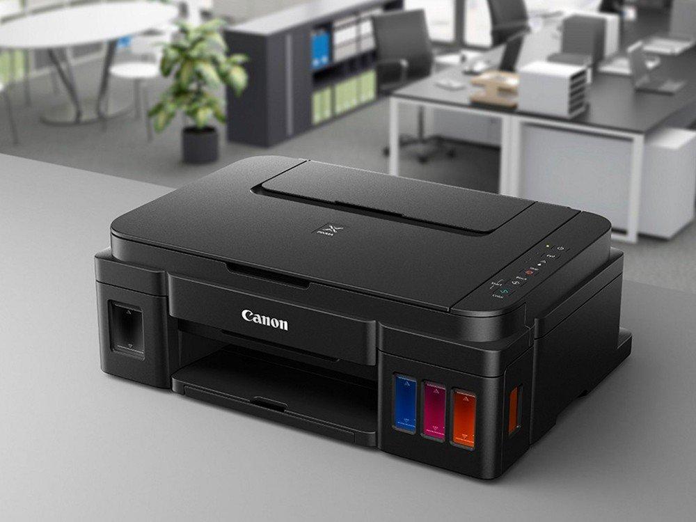 Foto 7 - Multifuncional Canon Maxx Tinta G3100 - Tanque de Tinta Colorida Wi-Fi USB