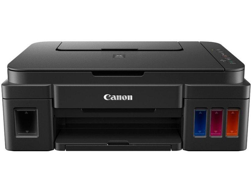 Foto 8 - Multifuncional Canon Maxx Tinta G3100 - Tanque de Tinta Colorida Wi-Fi USB
