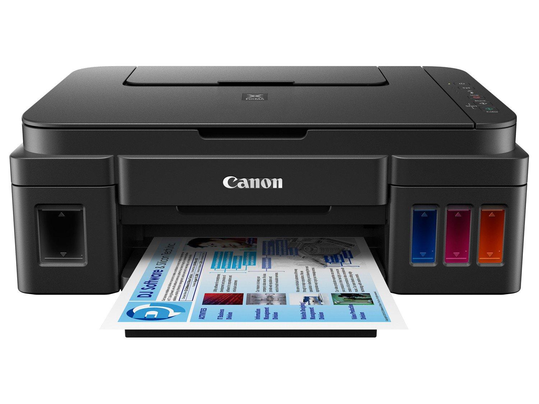 Foto 9 - Impressora Multifuncional Canon Maxx Tinta G3100 - Jato de Tinta Wi-Fi Colorida USB