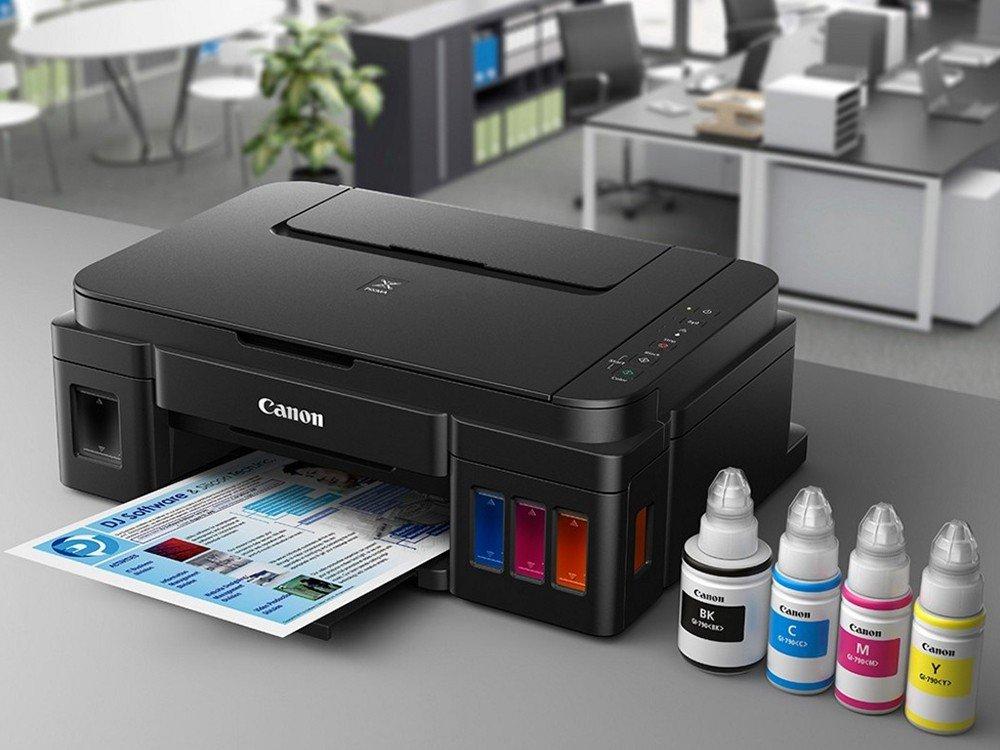 Foto 10 - Impressora Multifuncional Canon Maxx Tinta G3100 - Jato de Tinta Wi-Fi Colorida USB