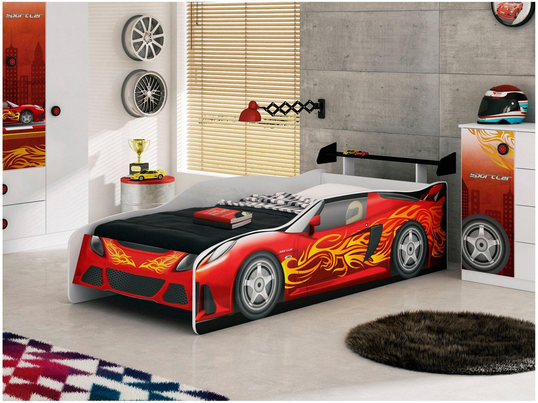 Cama Infantil Móveis Estrela - Sport Car - 1