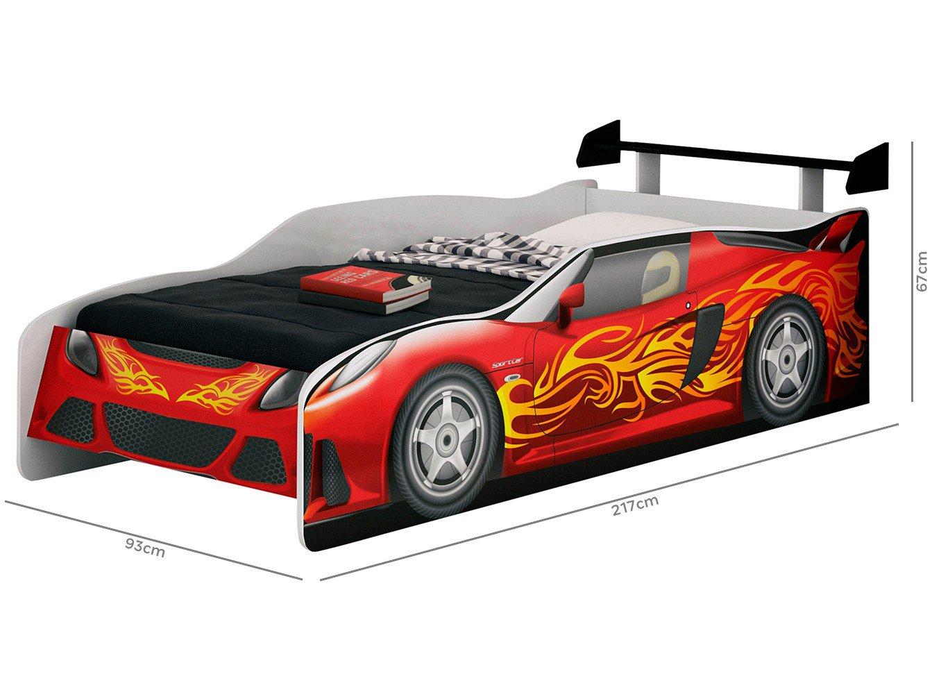 Cama Infantil Móveis Estrela - Sport Car - 2