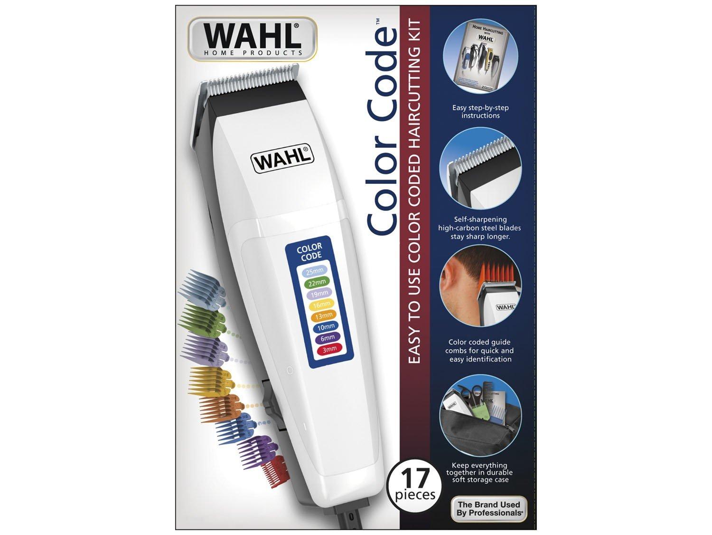 Máquina de Cortar Cabelo Wahl Color Code 220V - 3