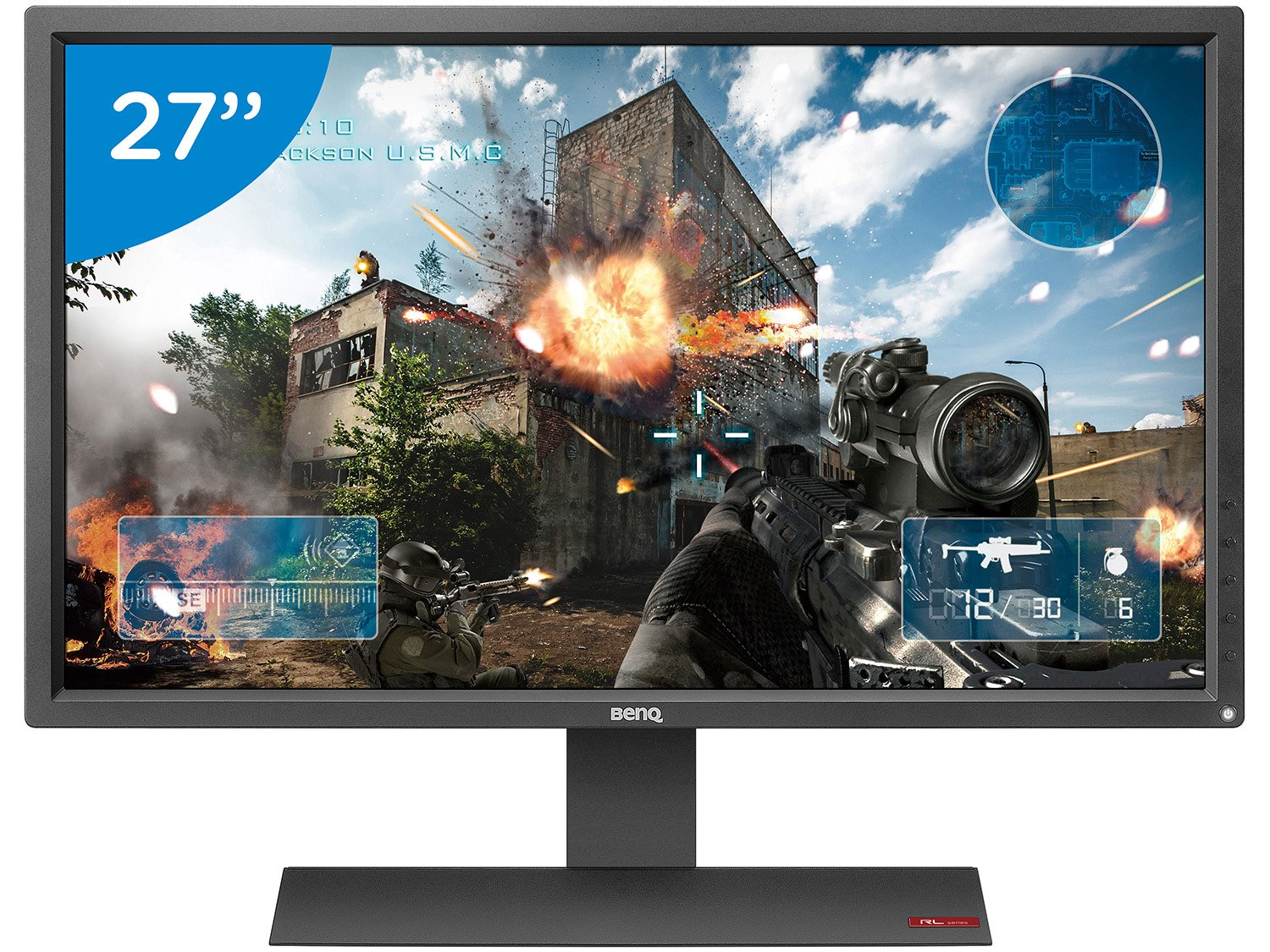 Foto 1 - Monitor para PC Full HD BenQ LCD Widescreen 27 - Zowie RL2755