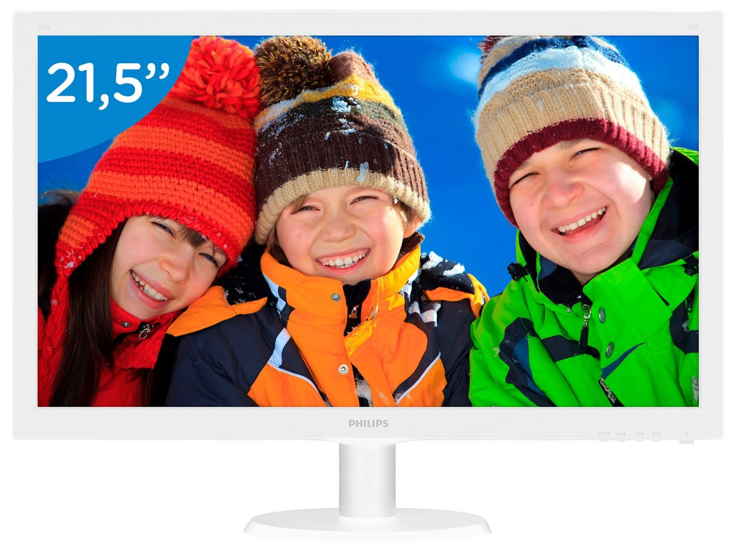 Foto 1 - Monitor para PC Full HD Philips LCD Widescreen - 21,5 223V5LHSW