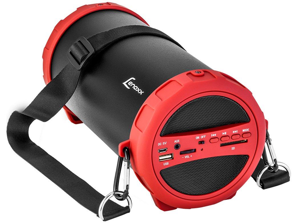 Speaker Boom System Lenoxx BT-520 Conexão Bluetooth Entrada USB e Rádio FM – 20W - 5