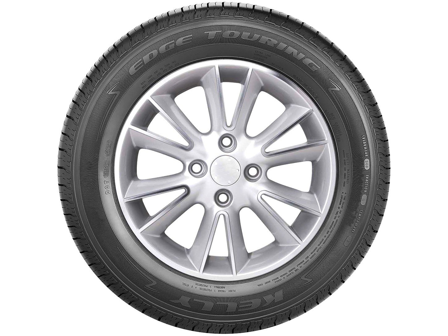"Pneu Aro 14"" Goodyear 175/70R14 - Kelly Edge Touring 88T - 2"