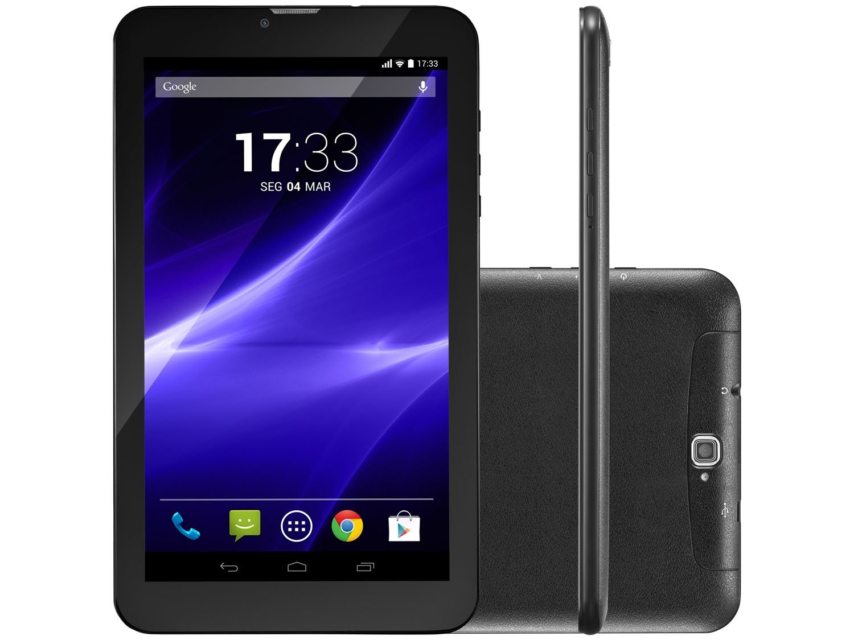 Foto 1 - Tablet Multilaser M9 8GB 9 3G Wi-Fi - Android 7 Proc. Quad Core Câmera Integrada