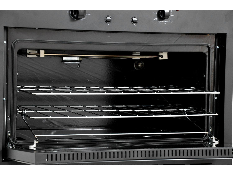 Foto 4 - Forno de Embutir a Gás GLP Venax Totale Nero GII - 18323 90L Grill Timer