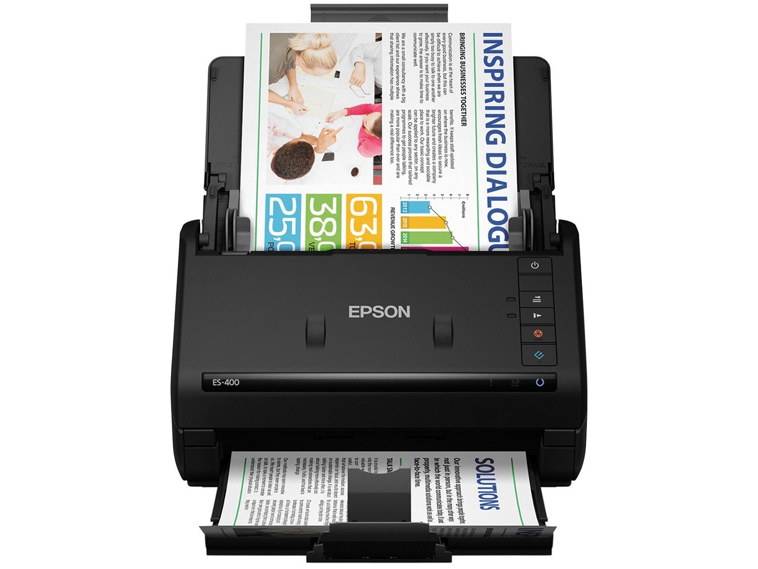Foto 3 - Scanner de Mesa Epson WorkForce ES400 - 1200dpi