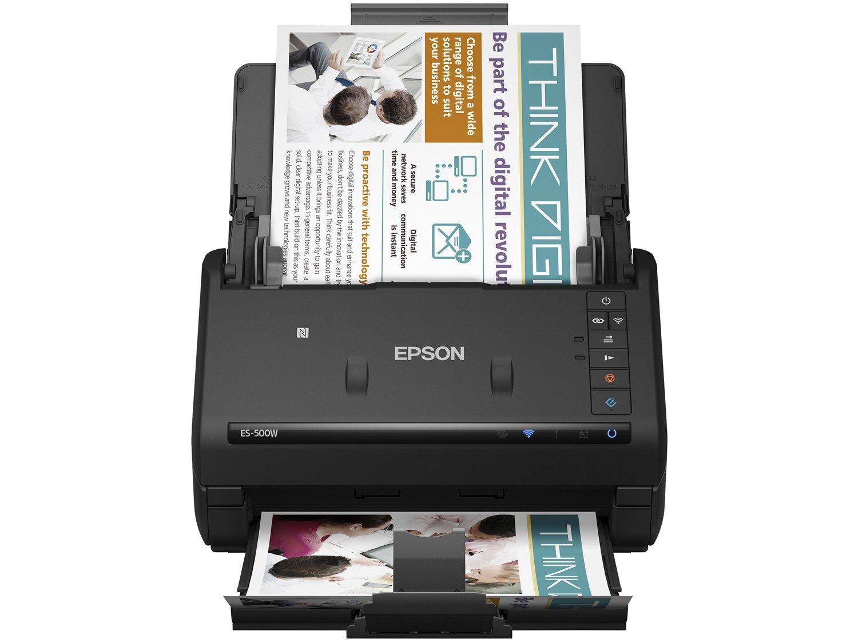 Foto 2 - Scanner de Mesa Epson WorkForce ES500W - Colorido Wireless 600dpi