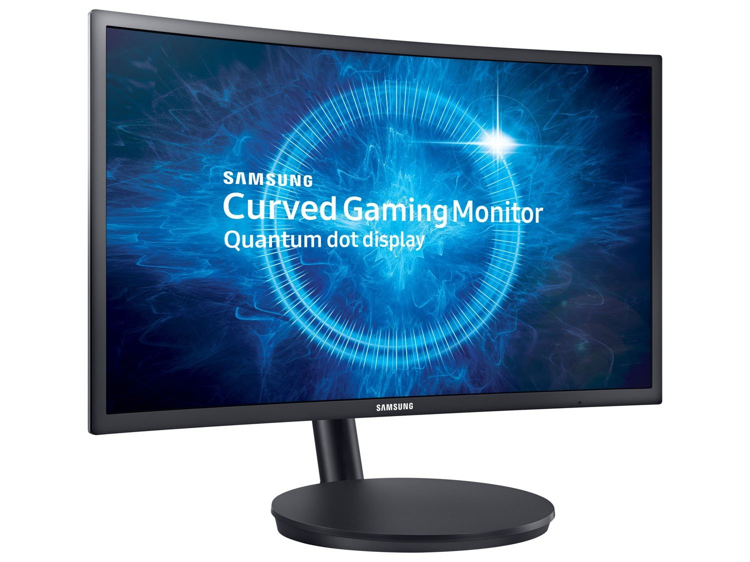 Foto 1 - Monitor Gamer Samsung Curvo 23,5 Full HD - LC24FG70