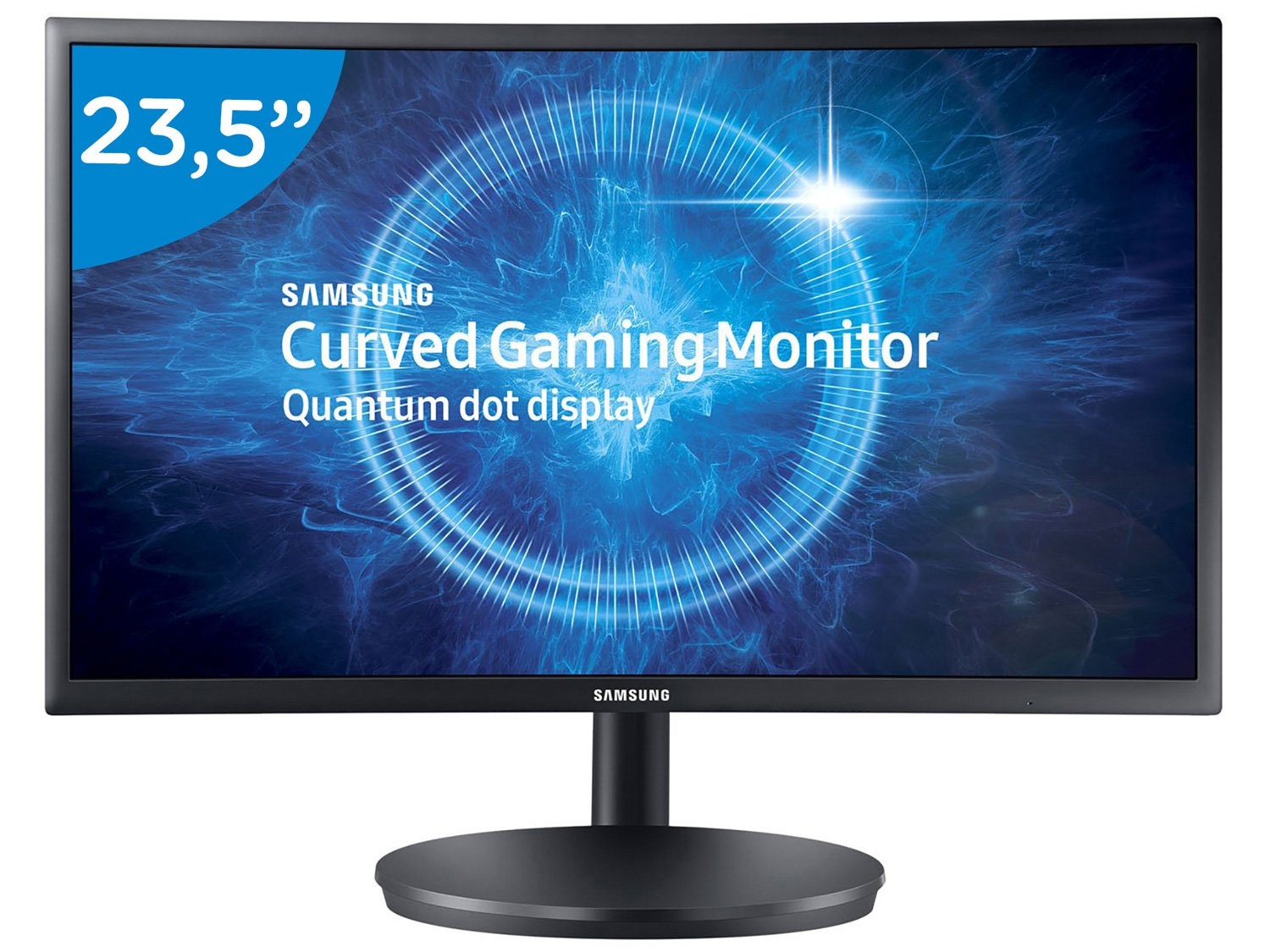 Foto 5 - Monitor Gamer Samsung Curvo 23,5 Full HD - LC24FG70