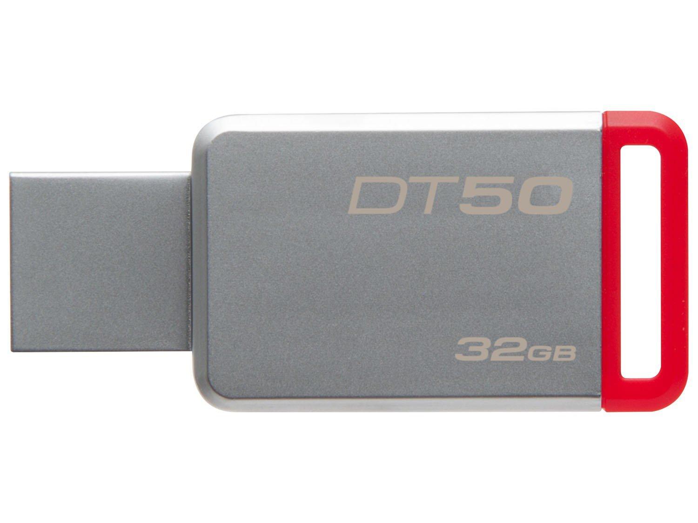 Foto 2 - Pen Drive 32GB Kingston - DataTraveler 50 USB 3.0