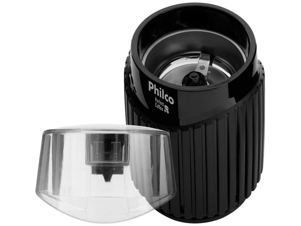 Moedor de Grãos Philco Perfect Coffe – Preto - 220V - 12