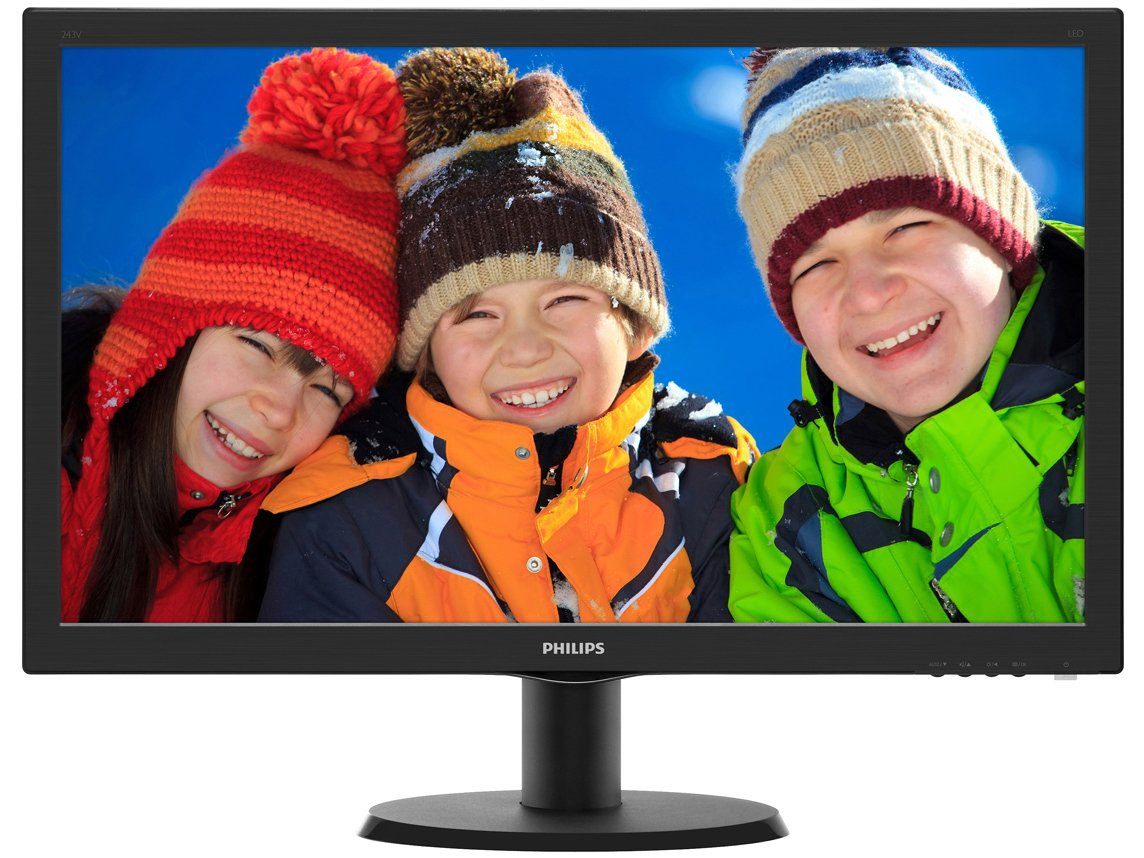 Foto 2 - Monitor para PC Full HD Philips LCD Widescreen - 23,6 243V5QHABA