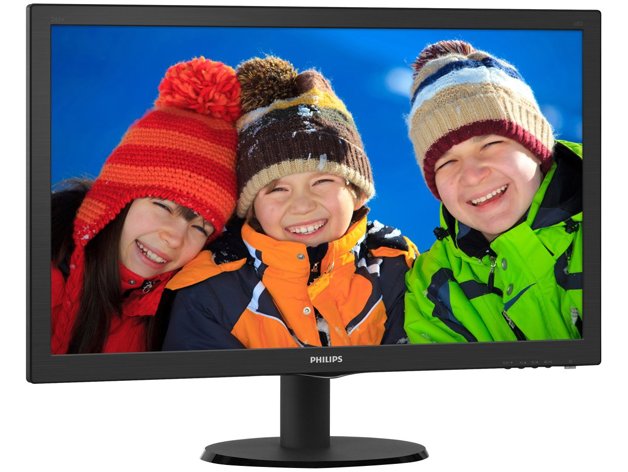 Foto 3 - Monitor para PC Full HD Philips LCD Widescreen - 23,6 243V5QHABA