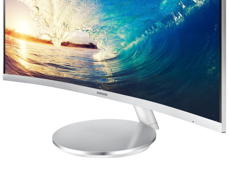 Foto 1 - Monitor para PC Full HD Samsung LED Curvo - Widescreen 27 C27F591FDL