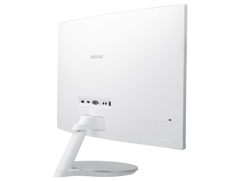 Foto 5 - Monitor para PC Full HD Samsung LED Curvo - Widescreen 27 C27F591FDL